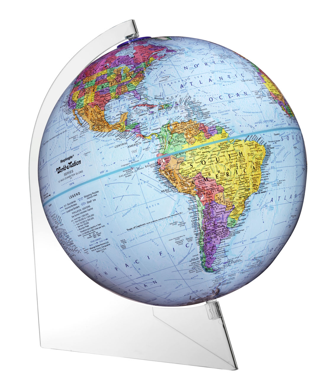 MapWorld Home Page - Globe maps of the world