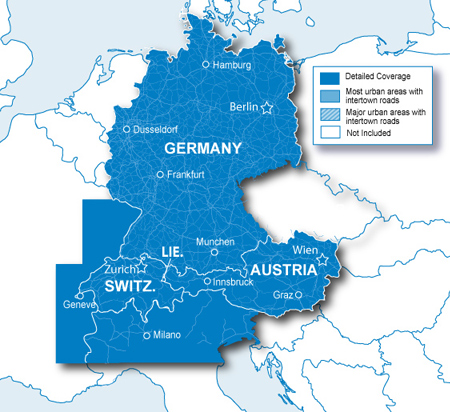 Map Of Germany And Italy With Cities.Garmin City Navigator Germany Austria Switzerland Liechtenstein