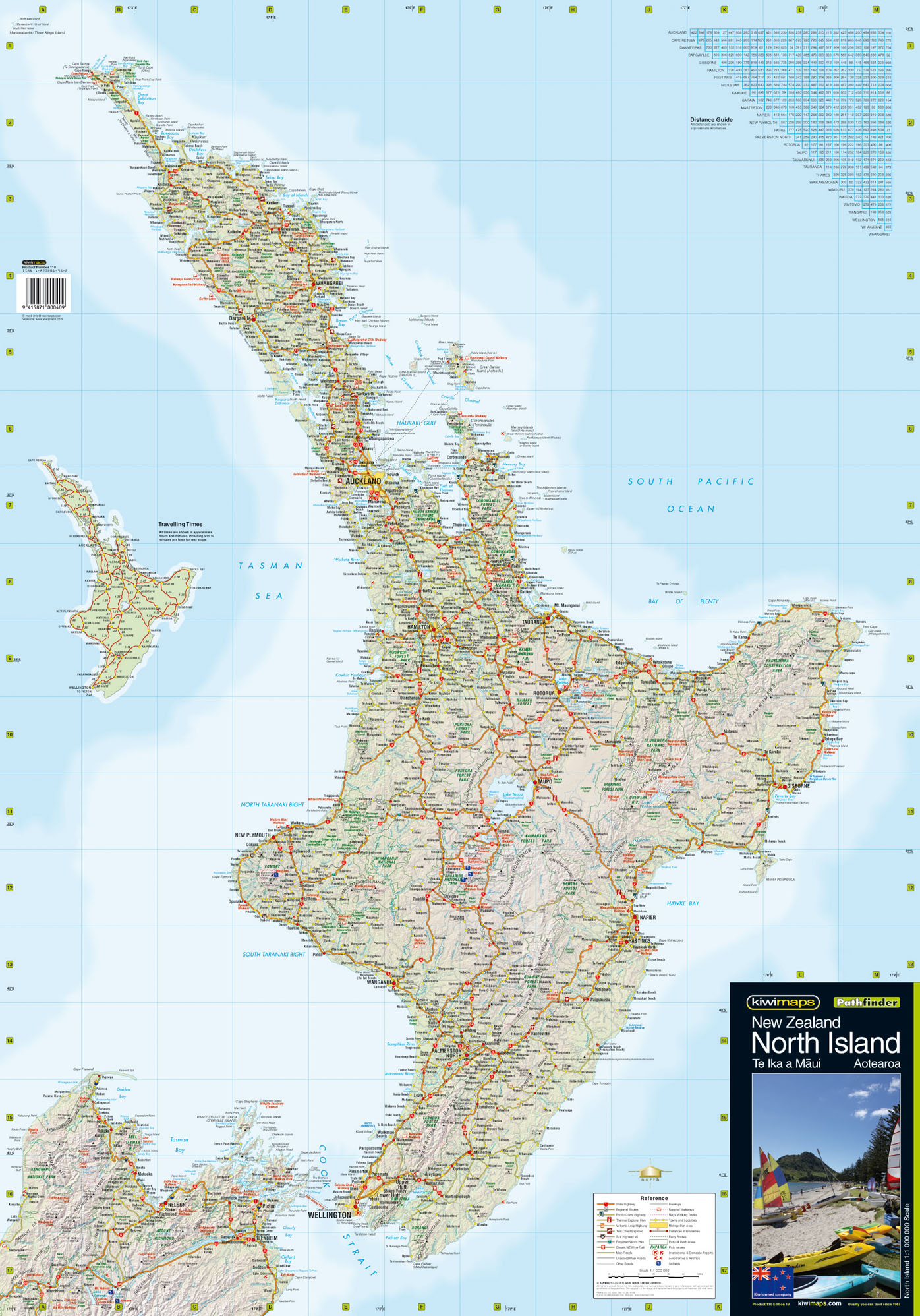 Map Of New Zealand North Island.North Island Wall Maps