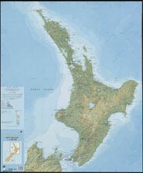 New Zealand Wall Maps