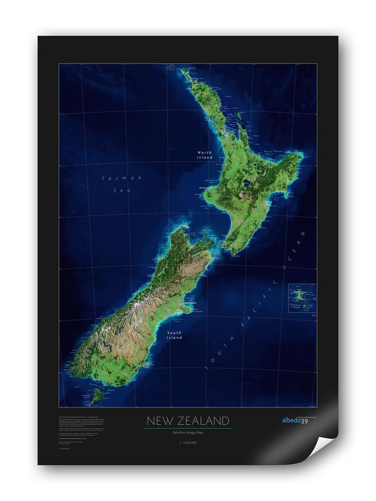 World wall maps nz floors doors interior design for Landscape design jobs new zealand
