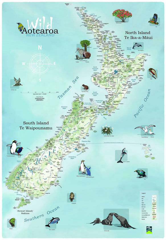 Map Of New Zealand North Island.Mapworld Home Page