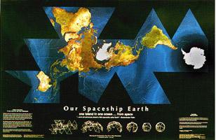 Unusual maps dymaxion spaceship gumiabroncs Choice Image