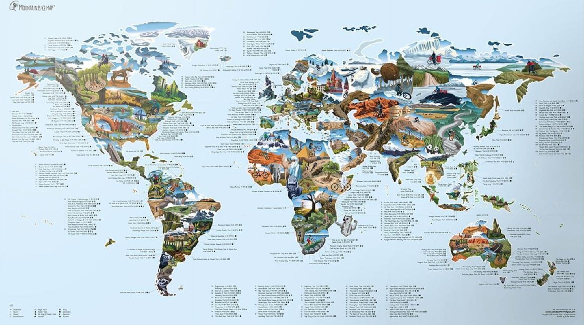 Picture of: Wall Maps Of The World