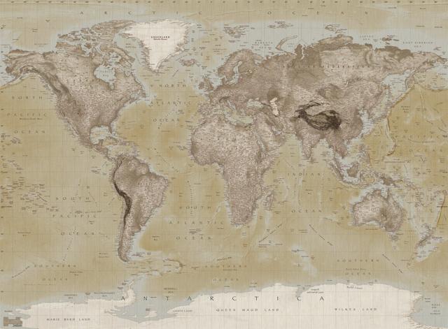 World Mural Maps